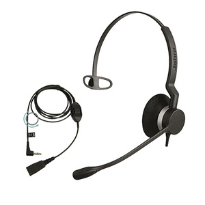 Jabra BIZ 2300 Mono Corded Headset w 3.5 mm jack cable for Alcatel