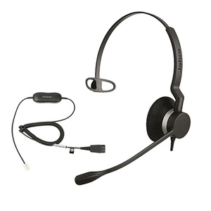Jabra BIZ 2300 Mono Corded Headset w GN1200 smart cable