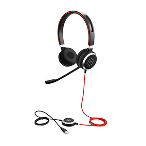 Jabra Evolve 40 MS Stereo USB and Mobile Corded Headset