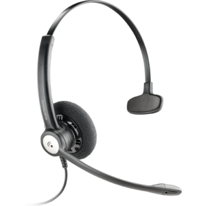 Poly Plantronics Entera Wideband Monaural Noise Cancelling