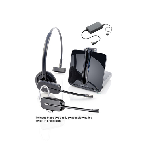 Poly Plantronics CS540 Wireless Headset w EHS: ShoreTel